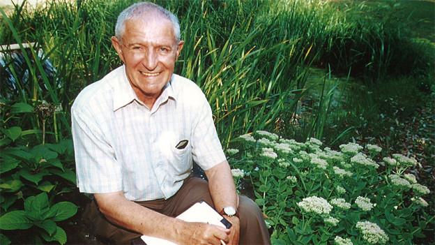 Botaniker Fritz Hans Schwarzenbach.