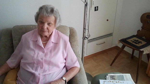 Die reise- und unternehmungslustige Anita Brehmi ist 93 Jahre alt und lebt heute in der Hauser Stiftung in Zürich.