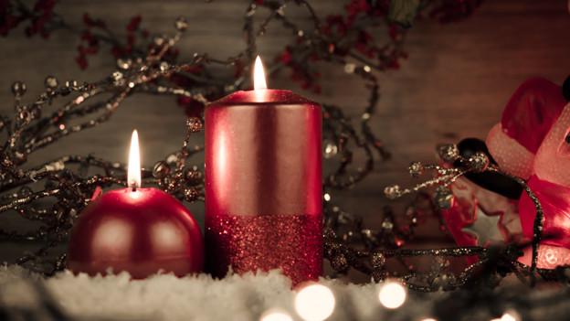 Mit der Adventszeit beginnt die Hochzeit für Kerzen.