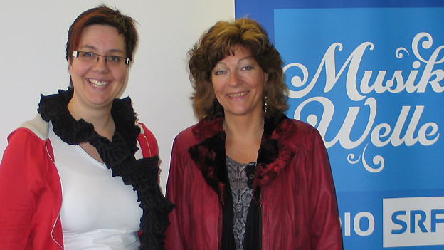 Isabelle Ruf-Weber (rechts) war zu Gast bei SRF Musikwelle-Redaktorin Karin Kobler.