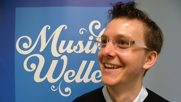Patrick Stump zu Gast bei SRF Musikwelle.