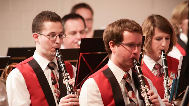 Die Jugendmusik Zäziwil ist, nebst anderen, zu Gast im SRF Musikwelle Brunch aus Zug.