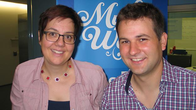 Jean Luc Kühnis ist zu Gast bei Karin Kobler im «SRF Musikwelle Brunch».