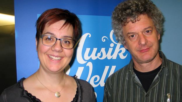 Adrian von Steiger zu Gast bei Karin Kobler im «SRF Musikwelle Brunch».