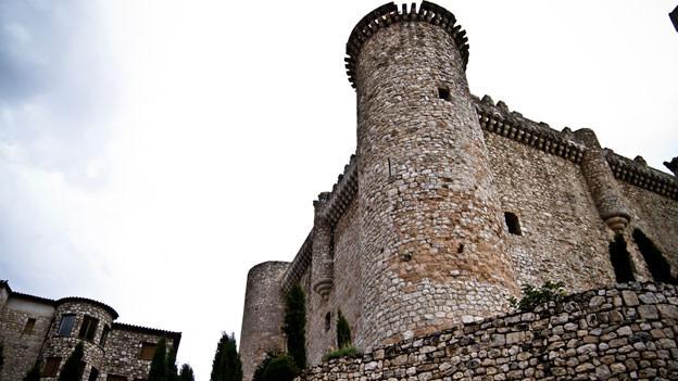 Wehrturm als Bestandteil einer Festung.