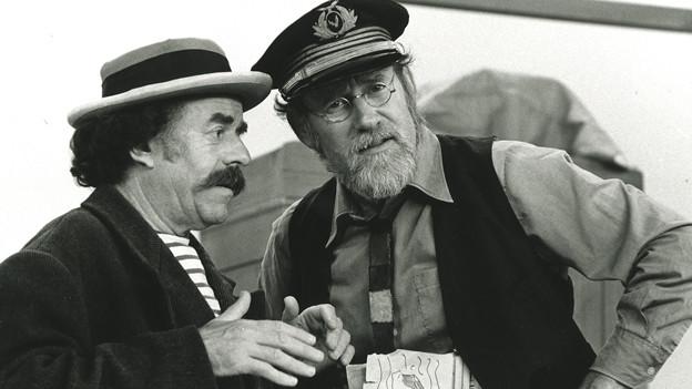 Szene aus der Kindersendung das «Spielhaus» mit Franz & René.