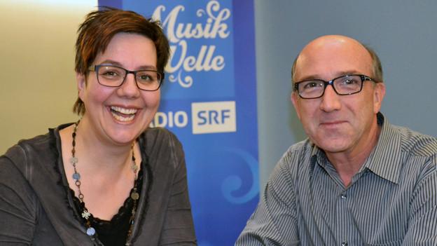 Karl Fischer zu Gast bei Karin Kobler im «SRF Musikwelle Brunch».