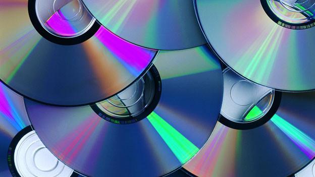 Ein Stapel CDs