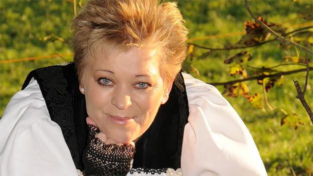 Die Berner Jodlerin Miriam Schafroth.