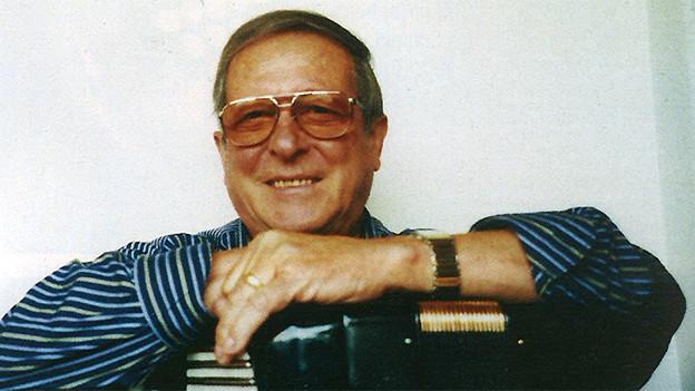 Fotokopie eines Porträts von Renato Bui.