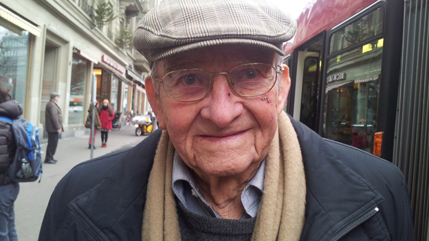 «Silvester feiere ich (93) nicht mehr, aber das macht nichts.»