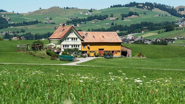 Appenzeller Landschaft.