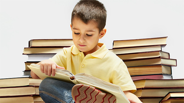 Wer stapelweise Bücher verschlingt, wird als Leseratte bezeichnet.