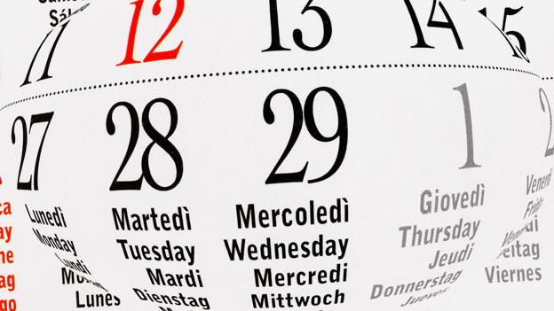 Martedì, Tuesday, Mardi, Dienstag oder in der Deutschschweiz «Zischtig».