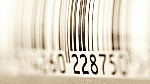 Der Strichcode wird auch Balkencode, Streifencode oder Barcode genannt.