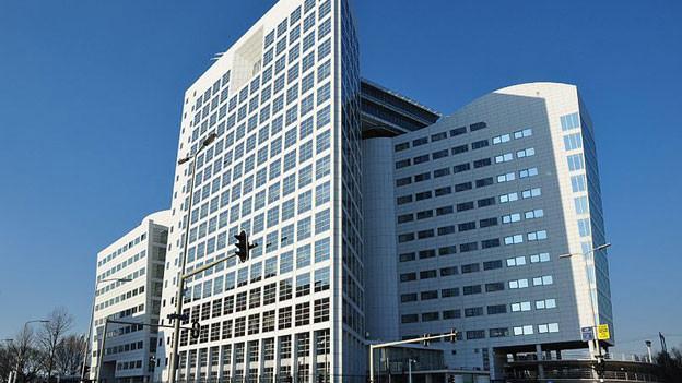 Das Gebäude des internationalen Strafgerichtshofs in Den Haag.