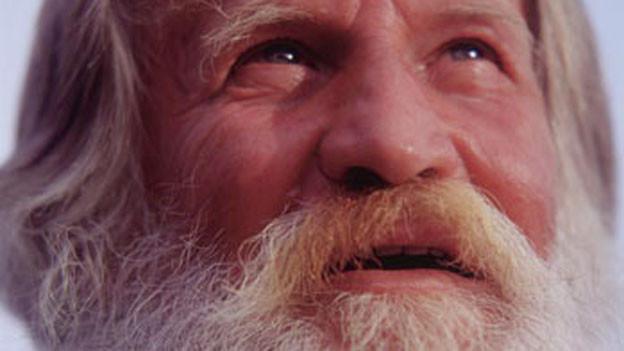 Franz Aebischer mit weissem Bart.
