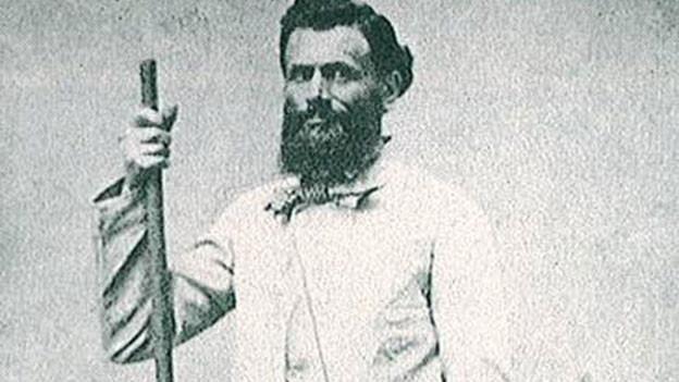Jakob Weilenmann in Bergsteigeroutfit.