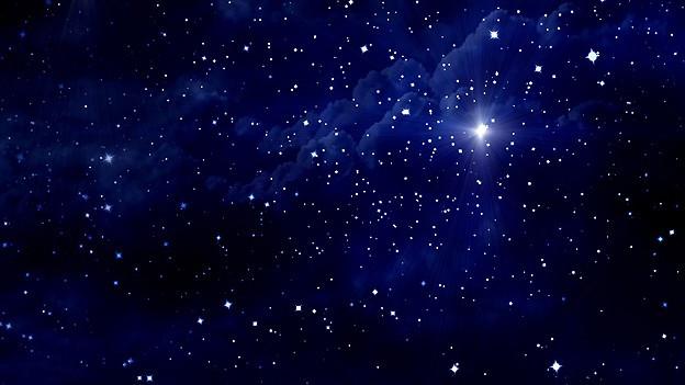 Ein Himmel voller Sterne.