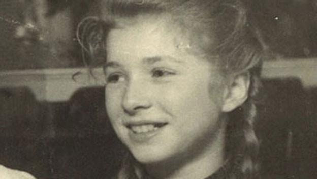 Rosalinde Rothen-Wolf in jungen Jahren.
