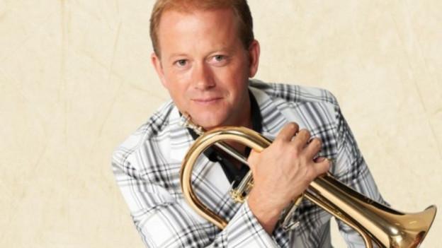 Dani Felber mit Trompete.