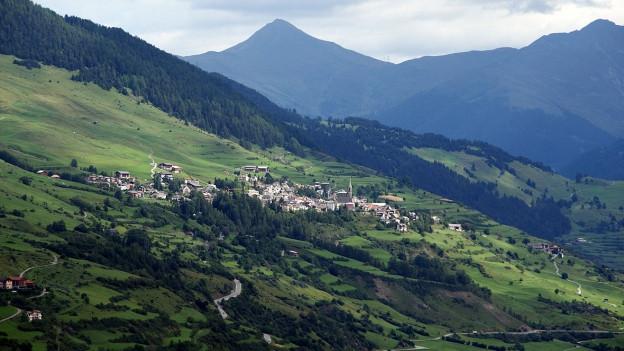 Landschaftsfoto vom Unterengadin.