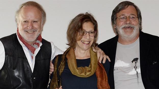Schnappschuss vom Gesangs-Trio.