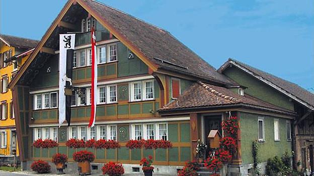 Ein altes Appenzellerhaus.