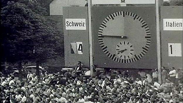 An der WM 1954 hat die Schweizer Fussballnati alle Erwartungen übertroffen.