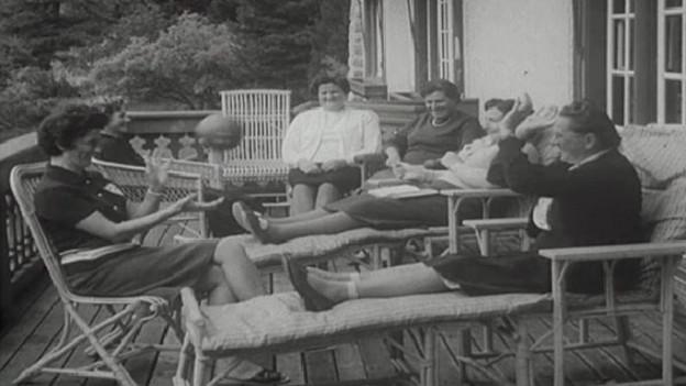1966: Ein Ferienheim für stark belastete Frauen.