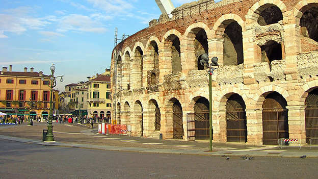 Das Amphietheater von Verona.