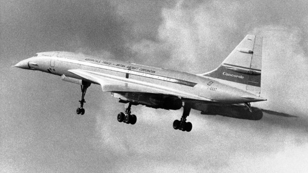 Mit Überschallgeschwindigkeit über den Atlantik. Auch die Swissair träumte davon.