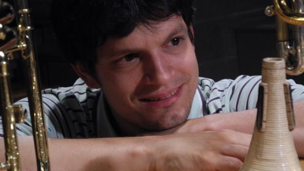 Ein Hörgenuss: Trompeter Immanuel Richter als Gastsolist bei der BBO.