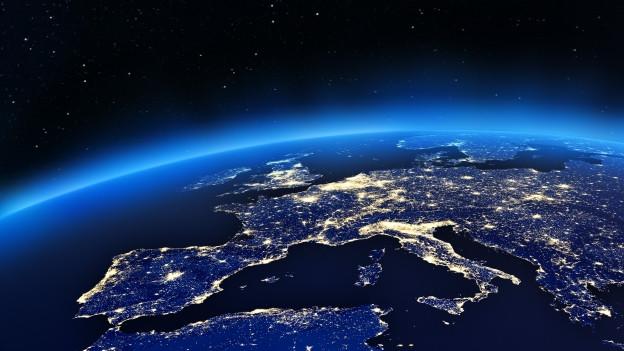 Europa aus dem All.
