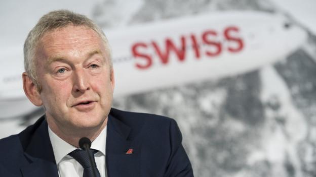 Swiss-CEO Thomas Klühr ist regelmässiger Konzertbesucher bei der Swiss Band.