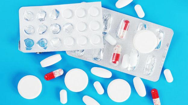 Viele Medikamente