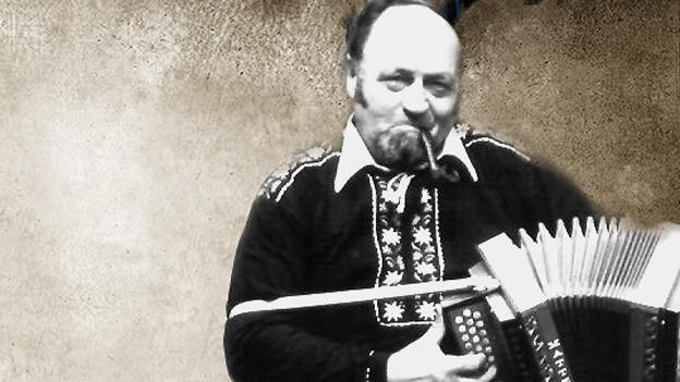Ein Akkordeonist.