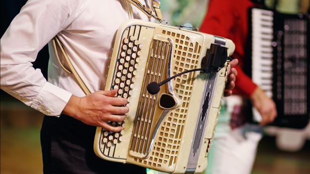 Akkordeonspieler.