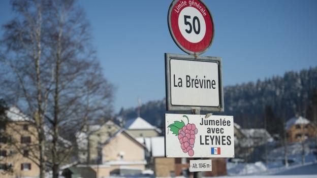 Noch heute feiert La Brévine jährlich eine «Fête du Froid».