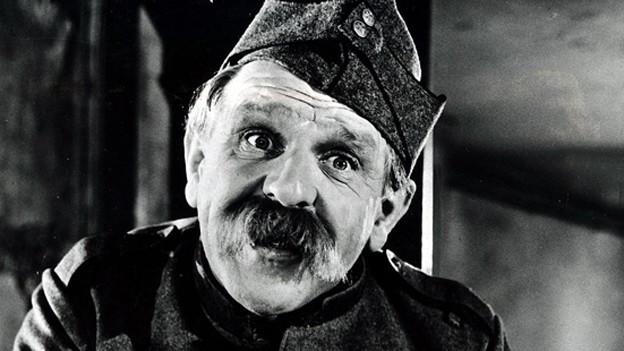 Alfred Rasser in seiner Paraderolle als HD Läppli.