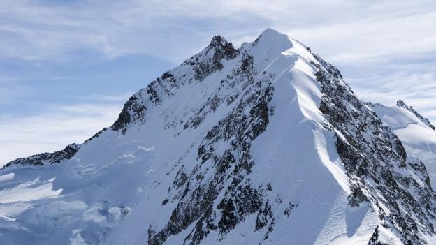 Die Ausssicht auf den Piz Bernina hat die Ballonpiloten 1947 schwer beeindruckt.