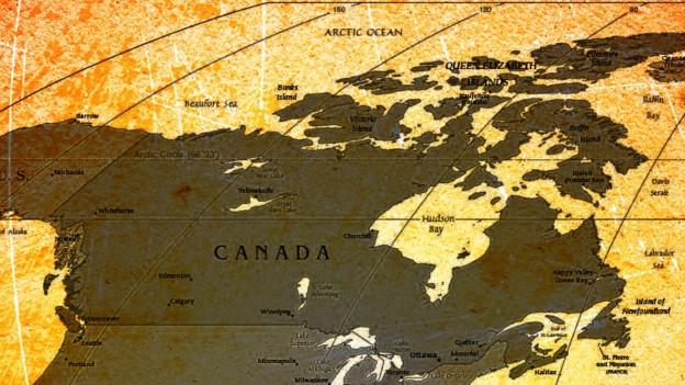 Für eine Sondersendung haben sich 1947 das kanadische und das Schweizer Radio verbunden.