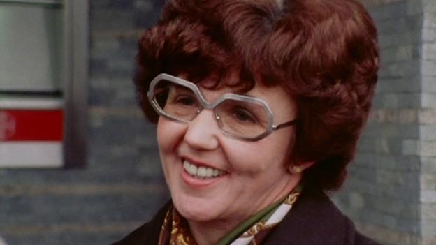 Porträt einer Frau aus den 1970er-Jahren.