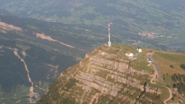 Luftaufnahme Rigi.