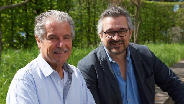 Röbi Schneider und Dani Häusler.