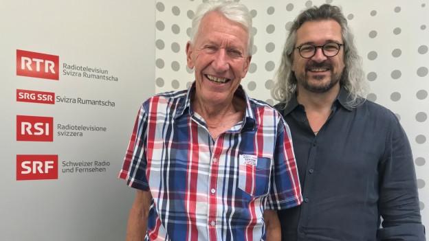 Carlo Simonelli und Dani Häusler.