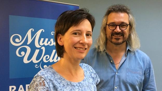 Claudia Muff ist zu Gast bei Dani Häusler im «SRF Musikwelle Brunch».