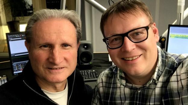 Beat Tschümperlin und Sämi Studer.