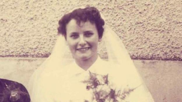 Hochzeitsfoto von Ruth Walther.
