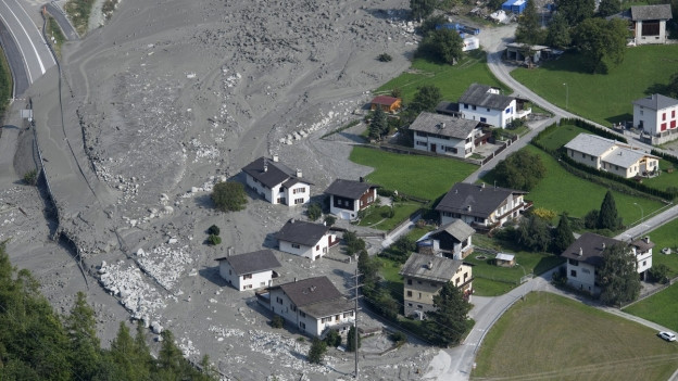Der Musikverlag Schori sammelte fast 1'000 Franken für die Opfer des Bergsturzes von Bondo.